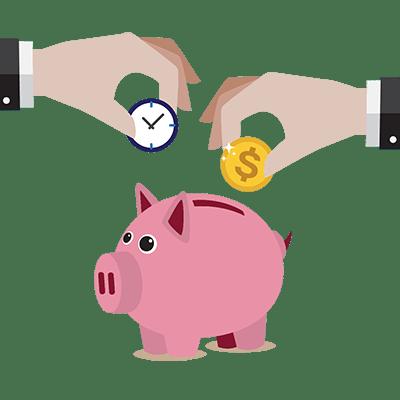 Economiser temps argent